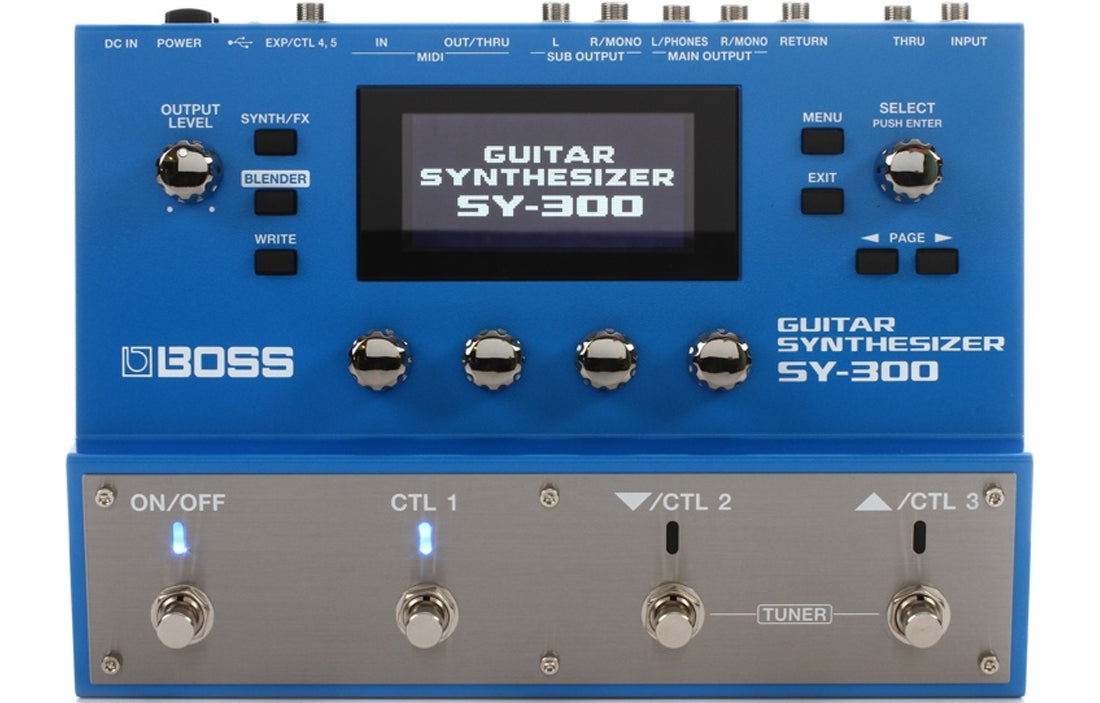 Boss SY-300 - The Bass Gallery