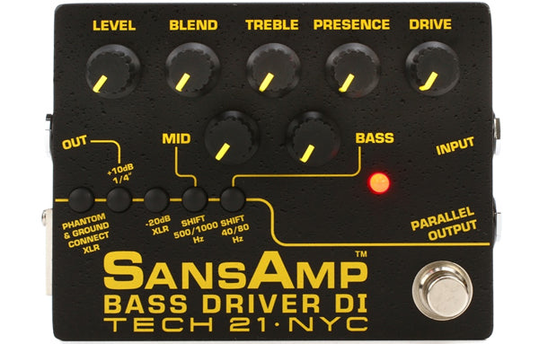 Sansamp Bass Driver DI - The Bass Gallery