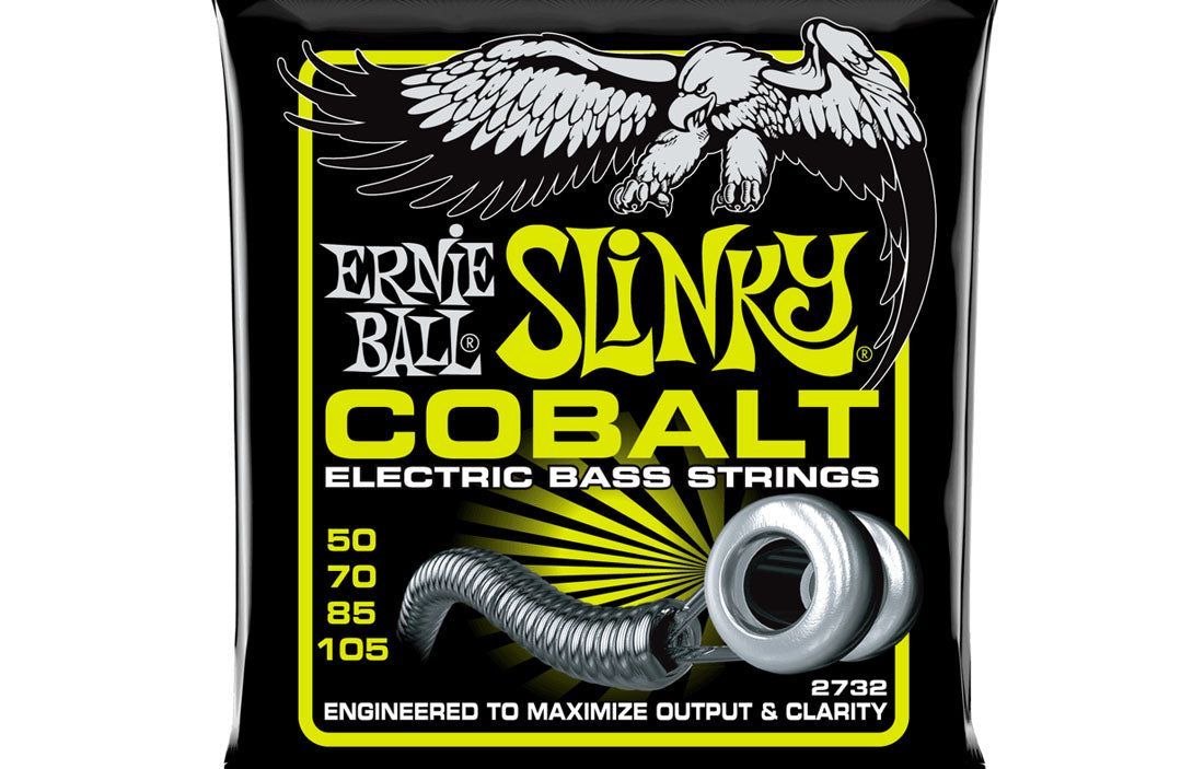 Ernie Ball Slinky Cobalt 50-105 - The Bass Gallery
