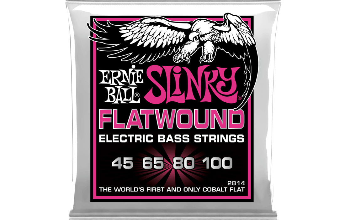 Ernie Ball Regular Slinky Flatwound 45-100 - The Bass Gallery