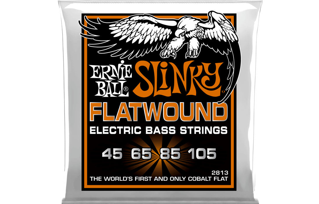Ernie Ball Regular Slinky Flatwound 45-105 - The Bass Gallery