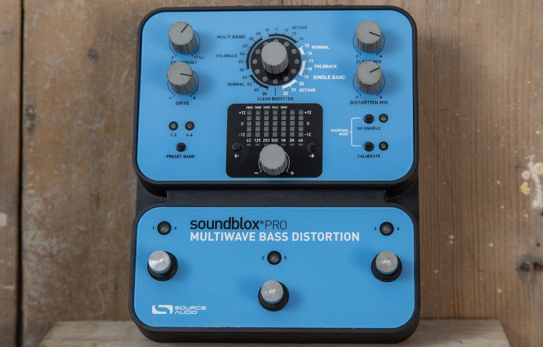 Source Audio Soundblox Pro Multiwave Bass Distortion - The Bass Gallery