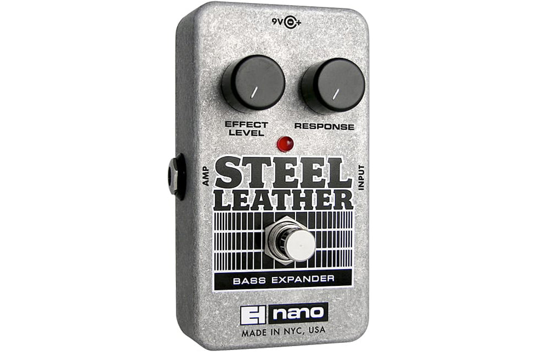 Electro Harmonix Steel Leather - The Bass Gallery