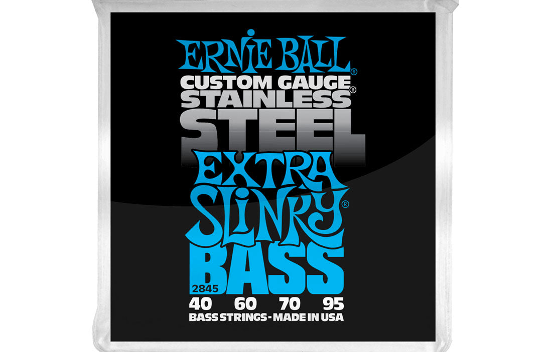 Ernie Ball Extra Slinky Stainless Steel 45-95 - The Bass Gallery