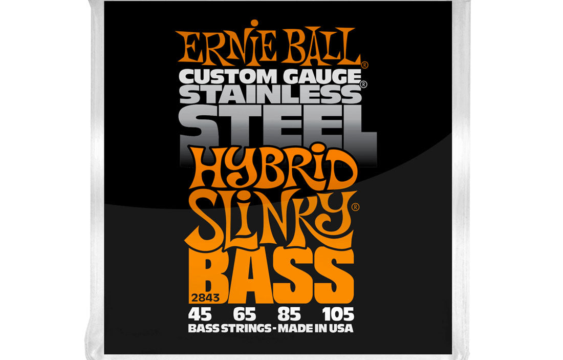 Ernie Ball Hybrid Slinky Stainless Steel 45-105 - The Bass Gallery