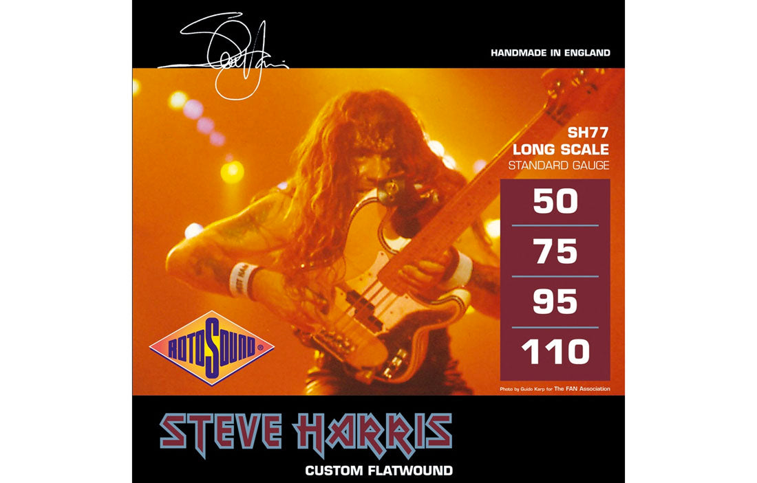 Rotosound Steve Harris Signature - The Bass Gallery
