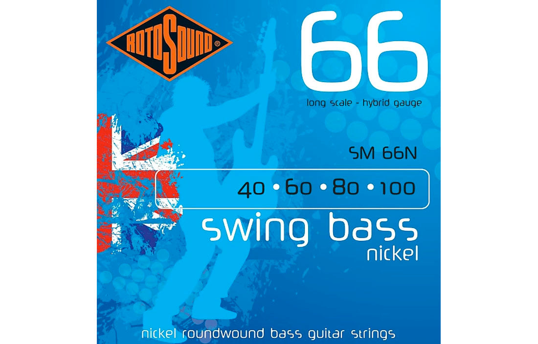 Rotosound Swing Bass 66 Nickel - The Bass Gallery