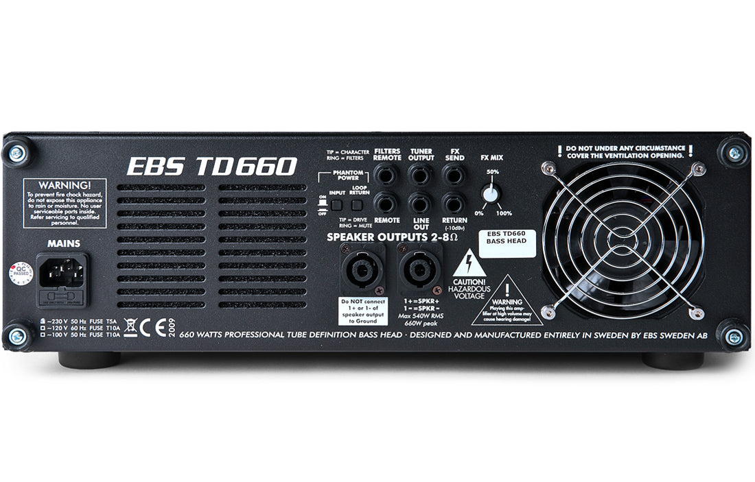 EBS TD660 - The Bass Gallery