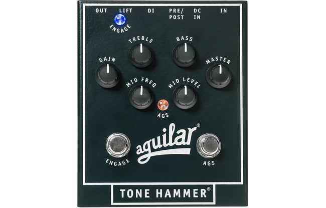 Aguilar Tone Hammer Preamp/Direct Box - The Bass Gallery