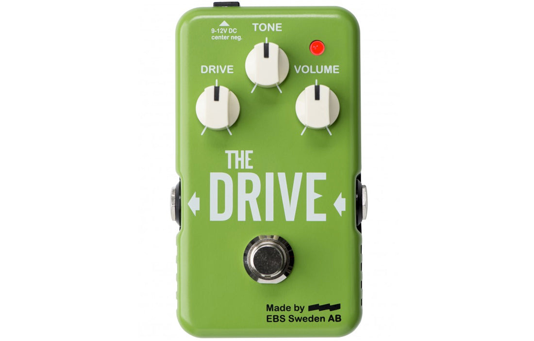 EBS The Drive Boost/Overdrive - The Bass Gallery