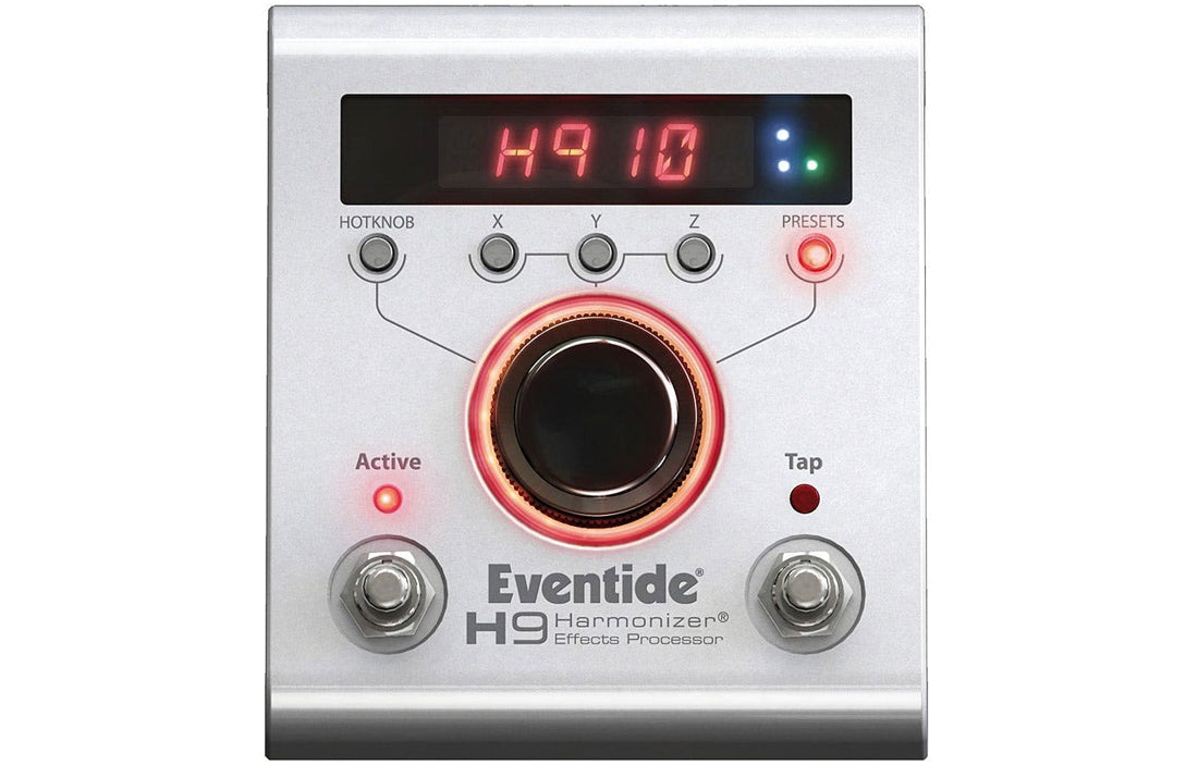 Eventide H9 Harmonizer Pedal - The Bass Gallery
