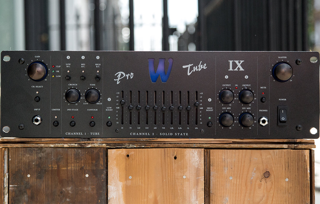 Warwick Pro Tube IX - The Bass Gallery