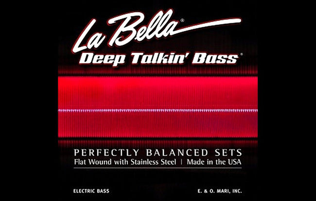 LaBella Deep Talkin' Bass Flat Wound 4 String - The Bass Gallery