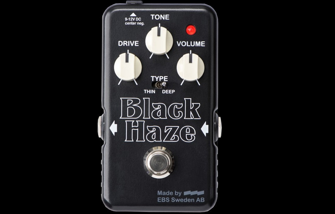 EBS Black Haze Distortion/Overdrive - The Bass Gallery