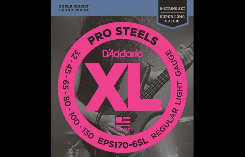 D'Addario EPS170-6SL - The Bass Gallery