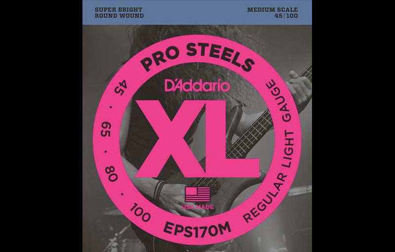 D'Addario EPS170M - The Bass Gallery