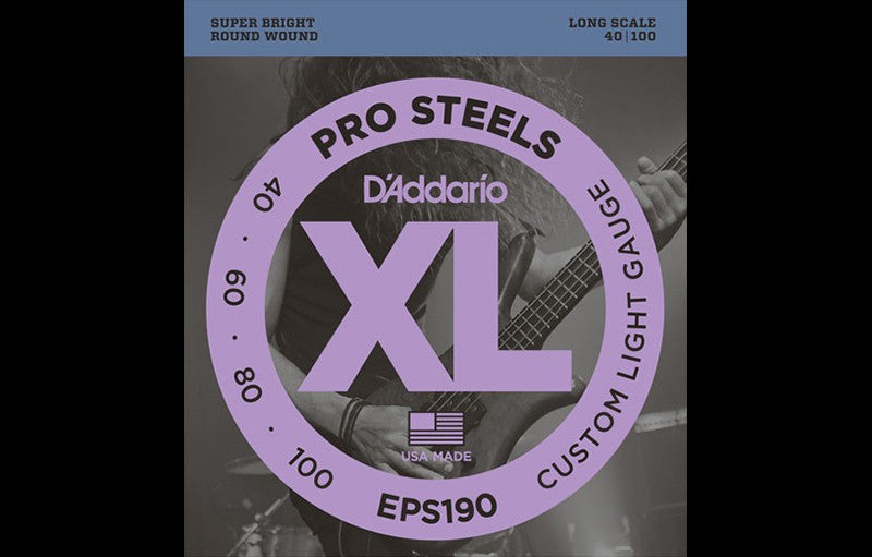D'Addario EPS190 - The Bass Gallery