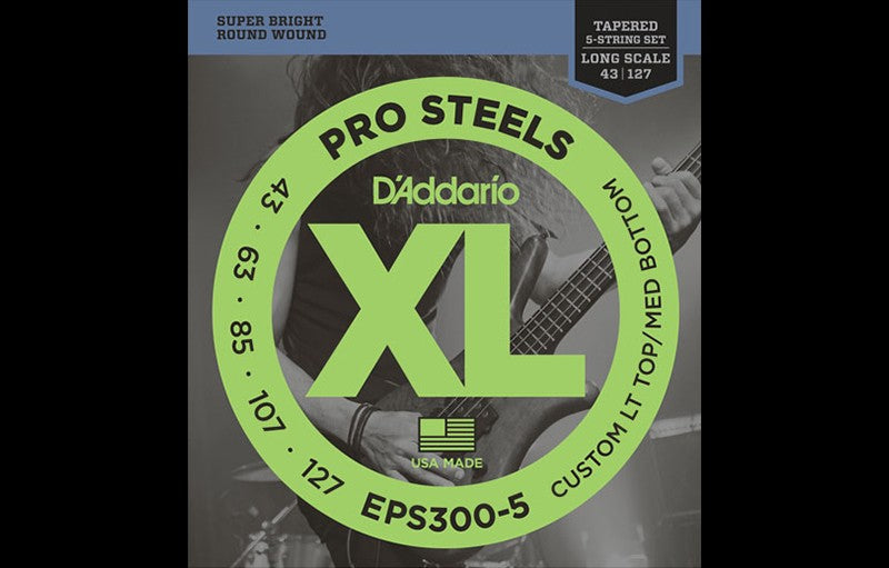 D'Addario EPS300-5 - The Bass Gallery