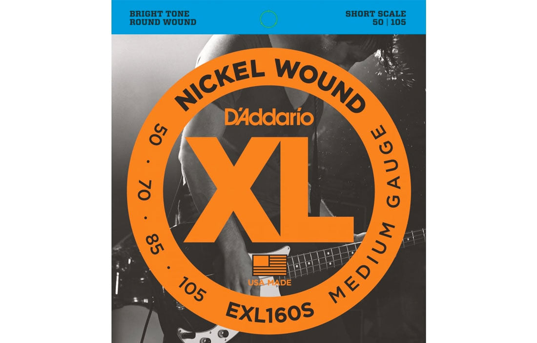 D'addario EXL160S - The Bass Gallery