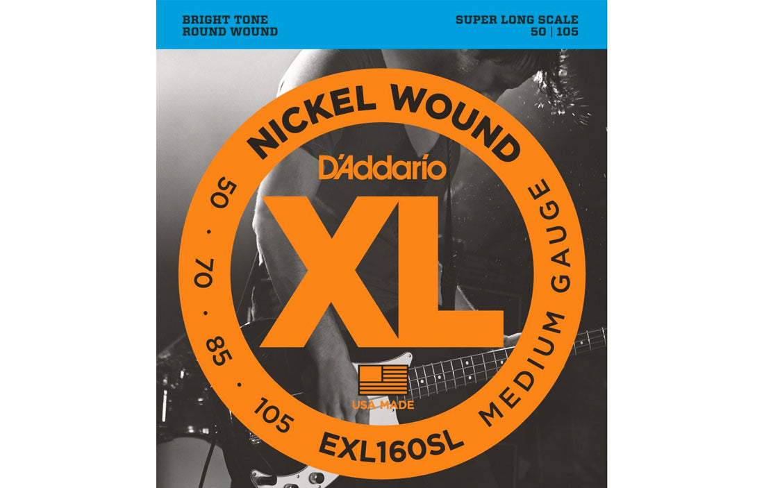 D'addario EXL160SL - The Bass Gallery