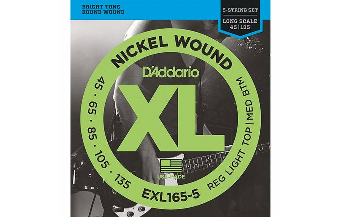 D'addario EXL165-6 - The Bass Gallery
