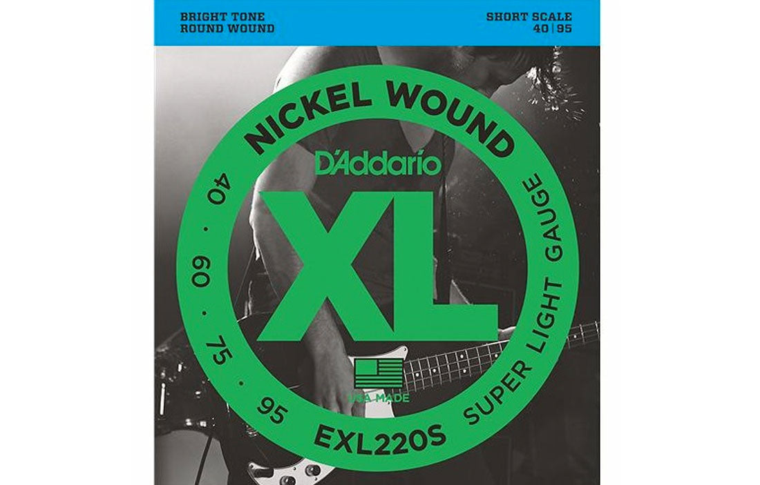 D'addario EXL220S - The Bass Gallery