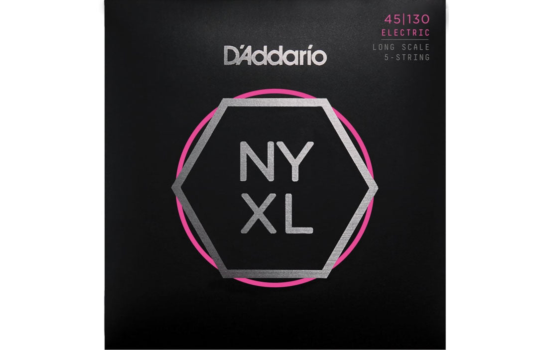 D'addario NYXL45130 - The Bass Gallery