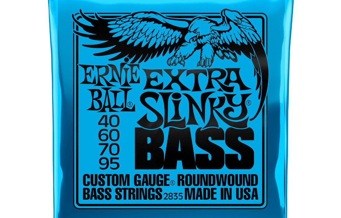 Ernie Ball Extra Slinky 40-95 - The Bass Gallery