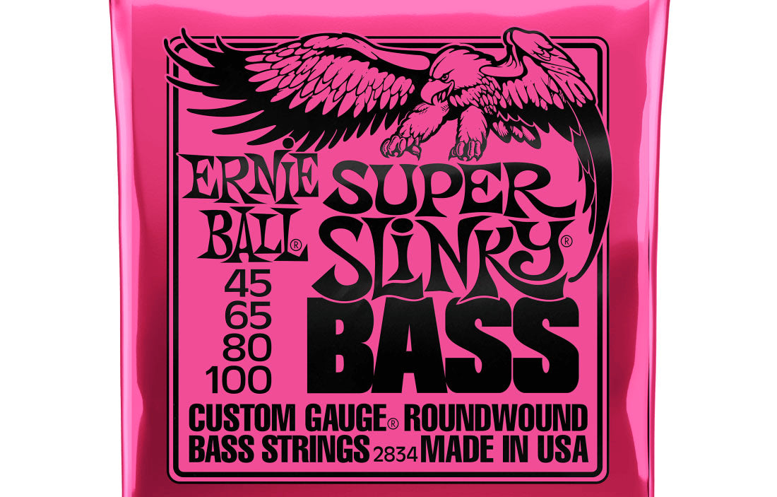 Ernie Ball Super Slinky 45-100 - The Bass Gallery
