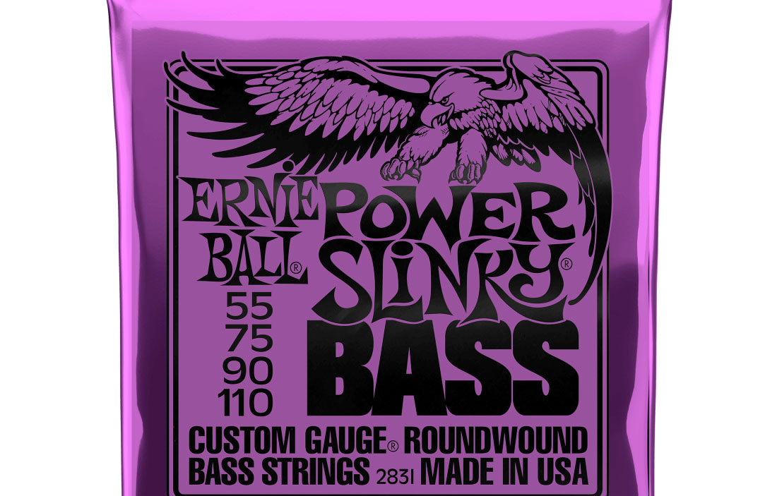 Ernie Ball Power Slinky 55-110 - The Bass Gallery