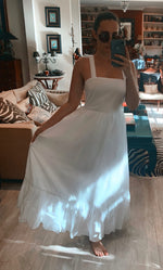 Beatriz Dress White