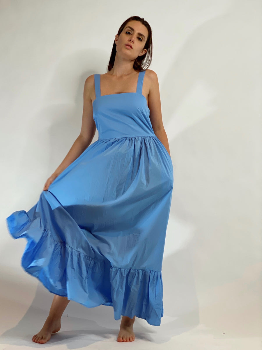 Beatriz Dress Powder Blue