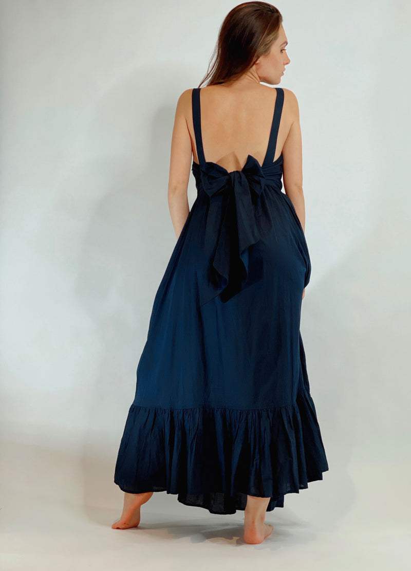 Beatriz Dress Navy Blue