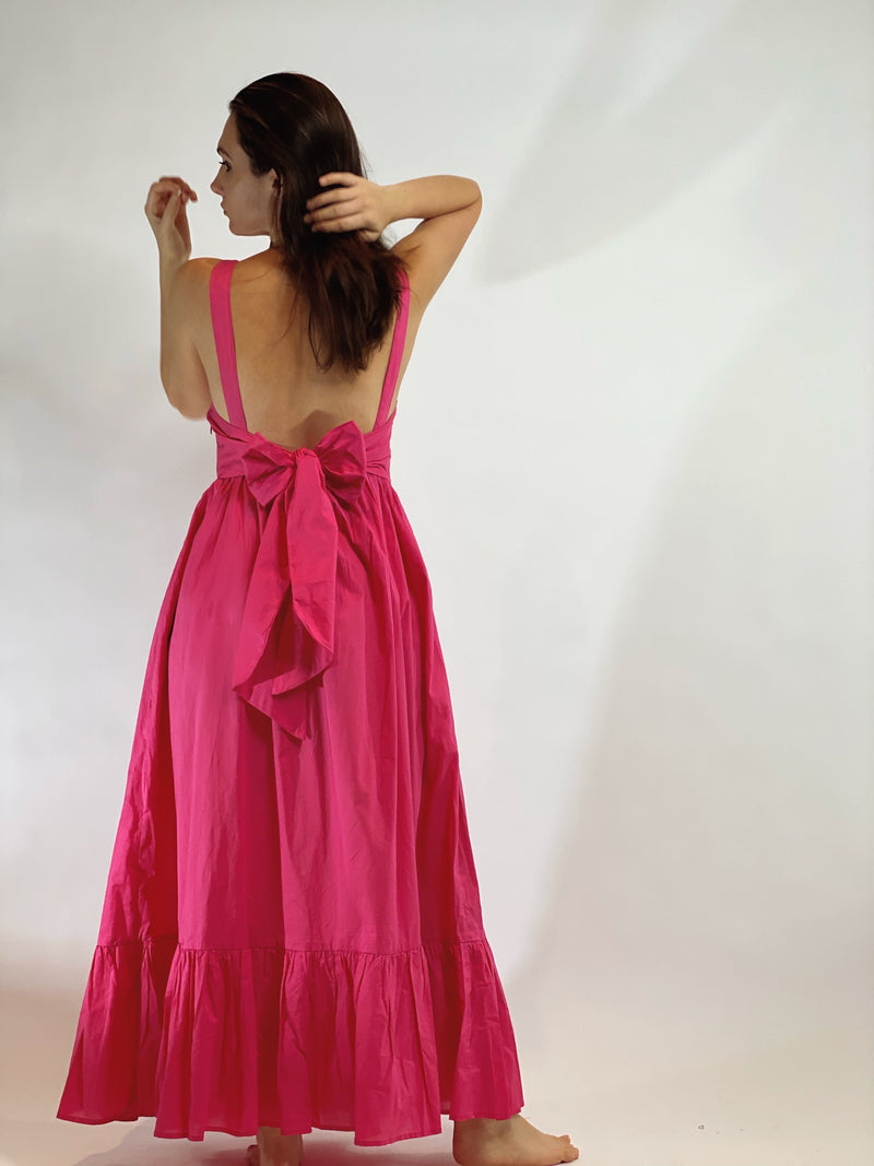 Beatriz Dress Fuchsia Pink