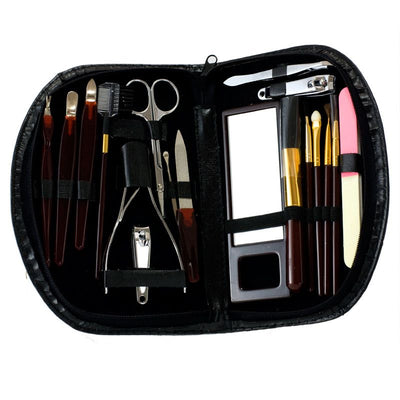 Ladies' Manicure & Make-up Set 18pc