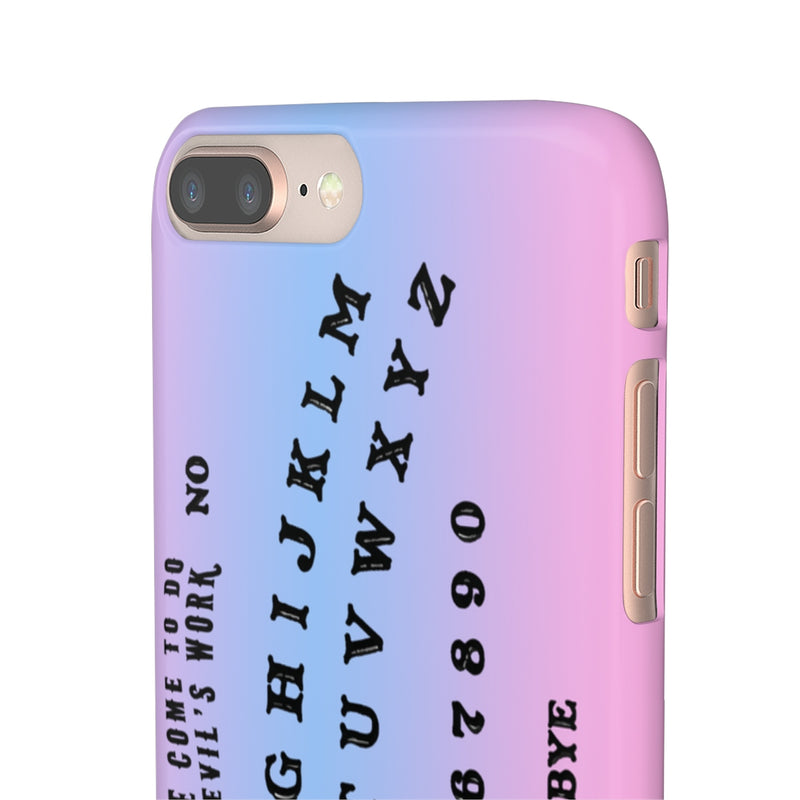 Ouija Board iPhone Case - Hipsters Wonderland - Tumblr Clothing - Tumblr Accessories- Aesthetic Clothing - Aesthetic Accessories - Hipster's Wonderland - Hipsterswonderland