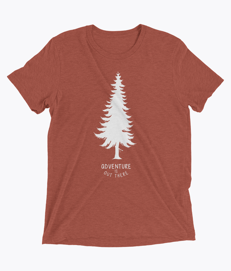 Adventure is out there Tri-Blend T-Shirts - Hipsters Wonderland - Tumblr Clothing - Tumblr Accessories- Aesthetic Clothing - Aesthetic Accessories - Hipster's Wonderland - Hipsterswonderland