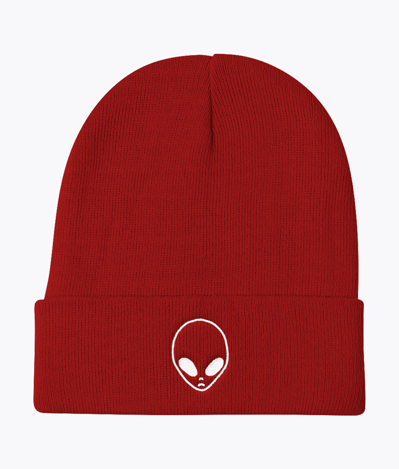Alien Knit Beanie - Hipsters Wonderland - Tumblr Clothing - Tumblr Accessories- Aesthetic Clothing - Aesthetic Accessories - Hipster's Wonderland - Hipsterswonderland