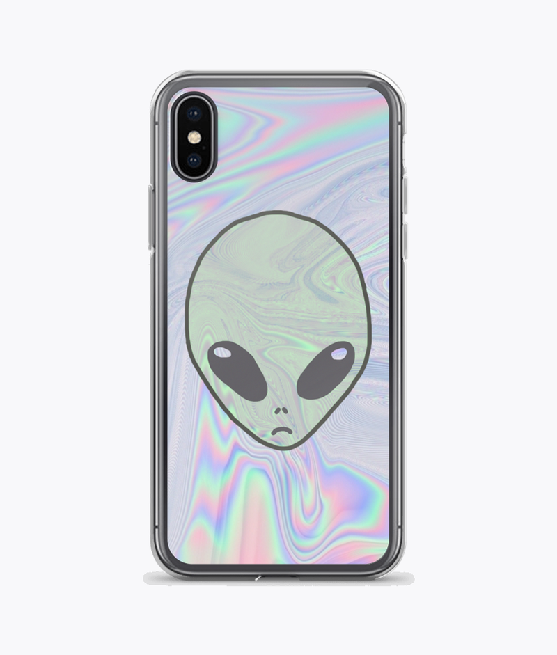 Alien Pastel iPhone Cases - Hipsters Wonderland - Tumblr Clothing - Tumblr Accessories- Aesthetic Clothing - Aesthetic Accessories - Hipster's Wonderland - Hipsterswonderland