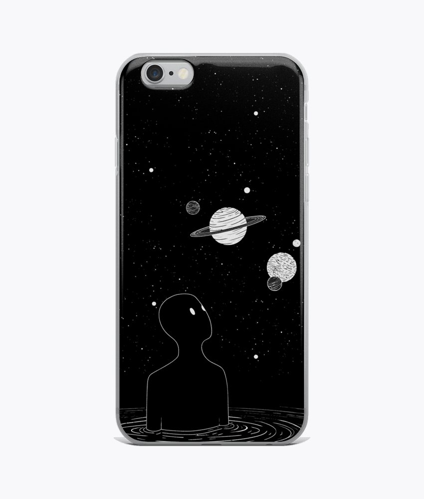 Alien's Space iPhone Cases - Hipsters Wonderland - Tumblr Clothing - Tumblr Accessories- Aesthetic Clothing - Aesthetic Accessories - Hipster's Wonderland - Hipsterswonderland