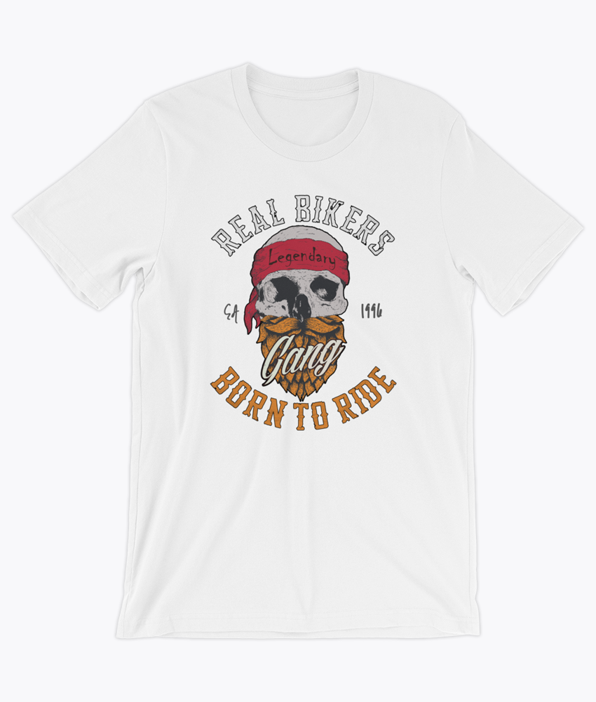 Born to Ride T-Shirt - Hipsters Wonderland - Tumblr Clothing - Tumblr Accessories- Aesthetic Clothing - Aesthetic Accessories - Hipster's Wonderland - Hipsterswonderland