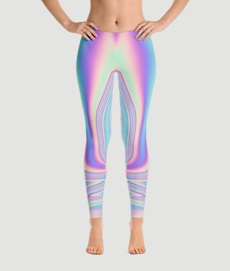 Peace Tie Dye Leggings