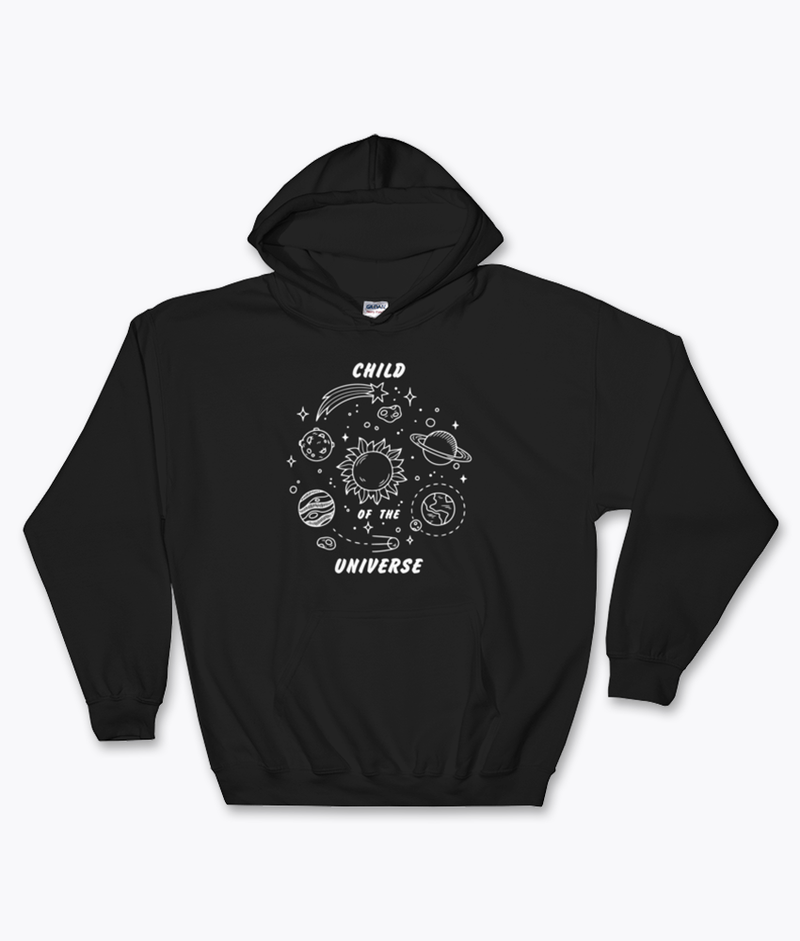 Child of the Universe Hoodie - Hipsters Wonderland - Tumblr Clothing - Tumblr Accessories- Aesthetic Clothing - Aesthetic Accessories - Hipster's Wonderland - Hipsterswonderland