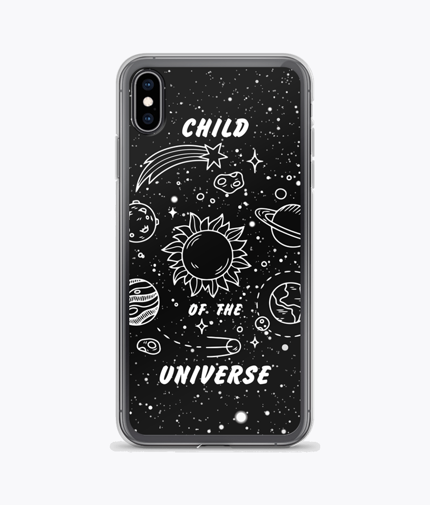 Child of the Universe Clear iPhone Case - Hipsters Wonderland - Tumblr Clothing - Tumblr Accessories- Aesthetic Clothing - Aesthetic Accessories - Hipster's Wonderland - Hipsterswonderland