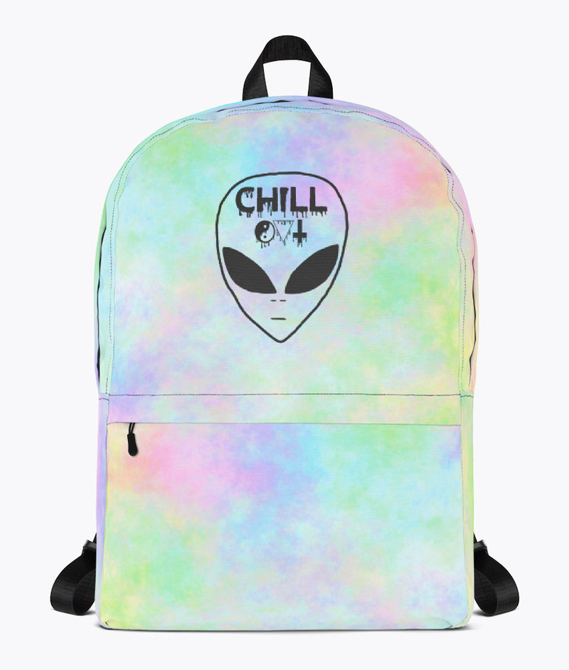 Chill Out Backpack - Hipsters Wonderland - Tumblr Clothing - Tumblr Accessories- Aesthetic Clothing - Aesthetic Accessories - Hipster's Wonderland - Hipsterswonderland