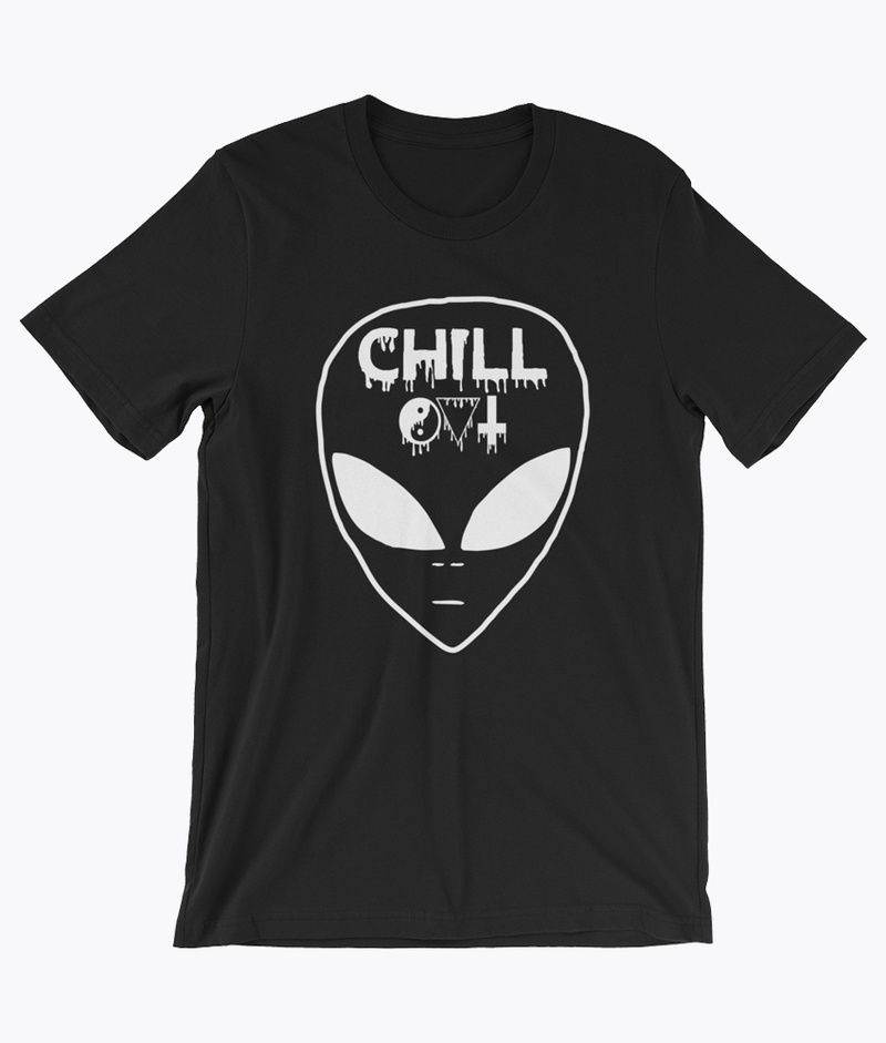 Chill Out T-Shirt - Hipsters Wonderland - Tumblr Clothing - Tumblr Accessories- Aesthetic Clothing - Aesthetic Accessories - Hipster's Wonderland - Hipsterswonderland