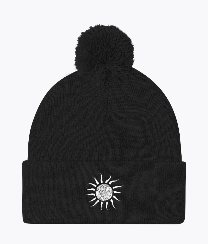 Day Pom Pom Beanie - Hipsters Wonderland - Tumblr Clothing - Tumblr Accessories- Aesthetic Clothing - Aesthetic Accessories - Hipster's Wonderland - Hipsterswonderland