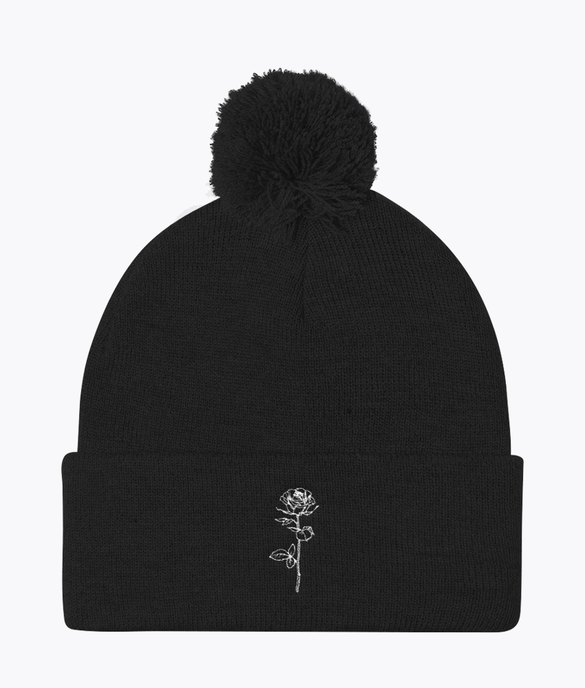 Dead Dreams Pom Pom Beanie - Hipsters Wonderland - Tumblr Clothing - Tumblr Accessories- Aesthetic Clothing - Aesthetic Accessories - Hipster's Wonderland - Hipsterswonderland