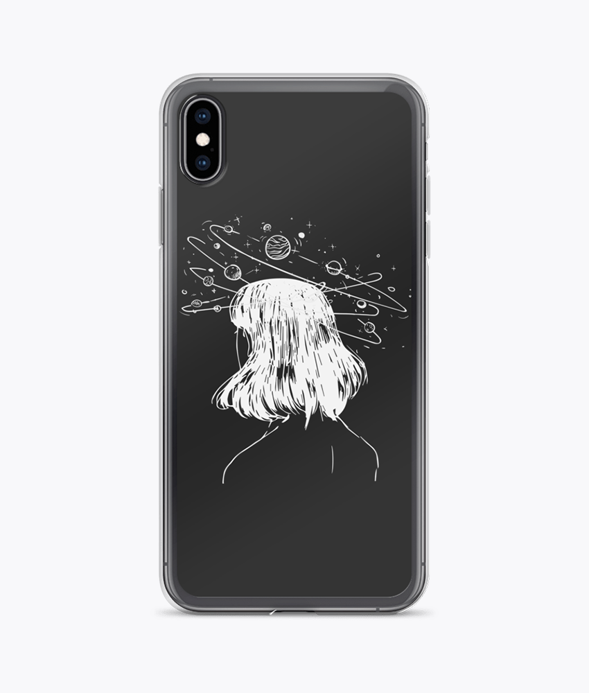 Dreaming Clear iPhone Case - Hipsters Wonderland - Tumblr Clothing - Tumblr Accessories- Aesthetic Clothing - Aesthetic Accessories - Hipster's Wonderland - Hipsterswonderland