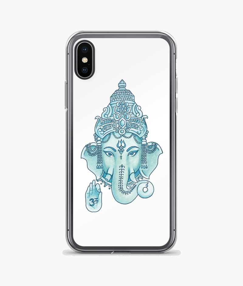 Ganesha Clear iPhone Case - Hipsters Wonderland - Tumblr Clothing - Tumblr Accessories- Aesthetic Clothing - Aesthetic Accessories - Hipster's Wonderland - Hipsterswonderland